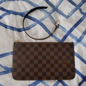 Louis Vuitton Neverfull MM Pouchete Damier Ebene